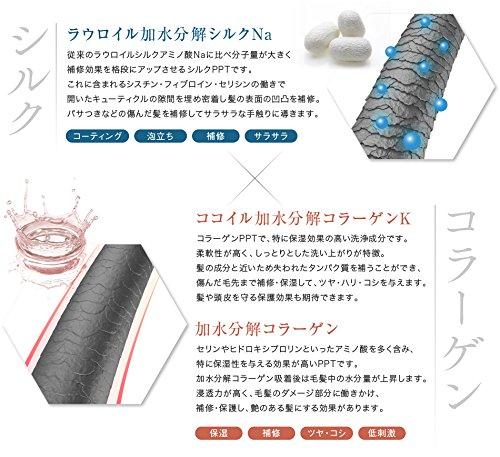株式会社アイナ・PPTコラーゲン&シルクシャンプー 脂性肌(男性用)のメーカー説明文