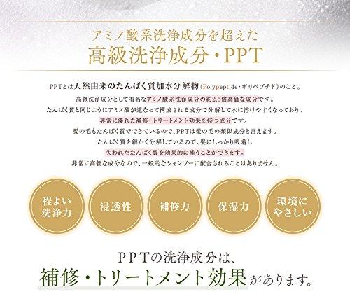 PPTコラーゲン&シルクシャンプー 脂性肌~普通肌用(ふんわり)