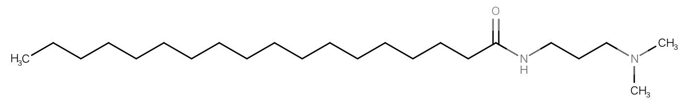 3級カチオン界面活性剤です。一般的な陽イオン界面活性剤よりも肌刺激がソフトです。ただし、ダメージ修復能力は弱いです。サラサラ仕上げ。ボリューム感を付与する効果も。