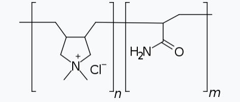 塩化ジメチルジアリルアンモニウム・アクリルアミド共重合体液で、コンディショニング効果を付与する他に泡質をきめ細かく増加させる機能があります。