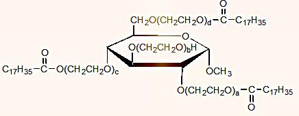 高い増粘作用を付与する非イオン界面活性剤。